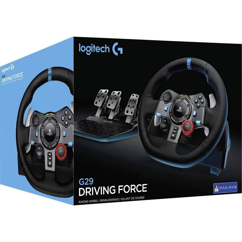 Logitech G29 Driving Force Racing Wheel PS3/4 & PC